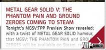 Metal Gear Solid V: The Phantom Pain выйдет на ПК