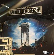 Рекламный баннер Star Wars: Battlefront с Star Wars Celebration