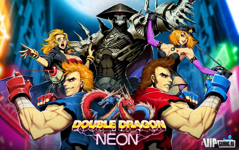 Как играть в Double Dragon: Neon по сети и интернету бесплатно (кооператив)